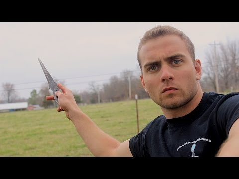 Can A Throwing Knife Kill A Zombie? Zombie Go Boom video