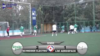 Lisi Aerospace - Schneider Electric Business Cup 2012 İzmir Maç Özeti HD