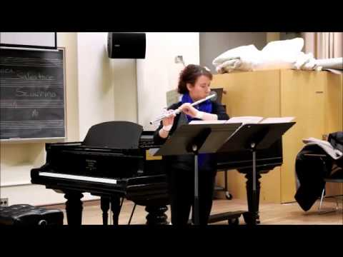 Шаррино, Сальваторе - Canzona di ringraziamento, для флейты соло