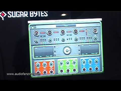 SUGAR BYTES TURNADO video demo [Musikmesse 2011]