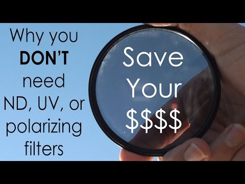 You (probably) DON'T Need Polarizing. UV. or ND Filters: Simulate them for FREE!