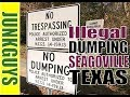 How to clean up and dispose illegal dumping in Seagoville Tx  / dfwjunkguys.com