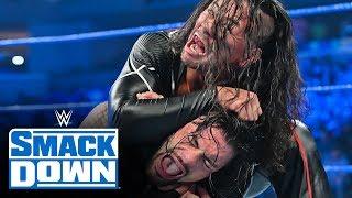 Roman Reigns vs. Shinsuke Nakamura SmackDown, Oct. 18, 2019
