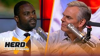 Michael Vick advises Lamar Jackson to develop as a passer, talks Mahomes & Zeke | NFL | THE HERD