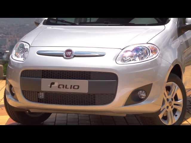 Vídeo de divulgação - Novo Fiat Palio 2012