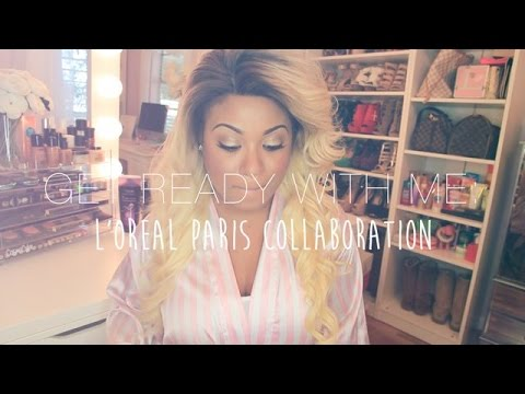 Get Ready With Me: L'oreal Paris Collaboration!