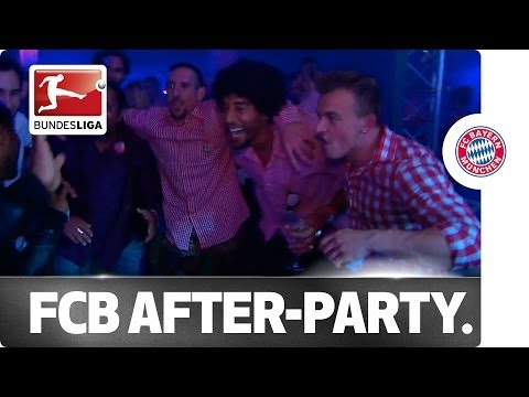 Party Time: FC Bayern's Massive Title Party