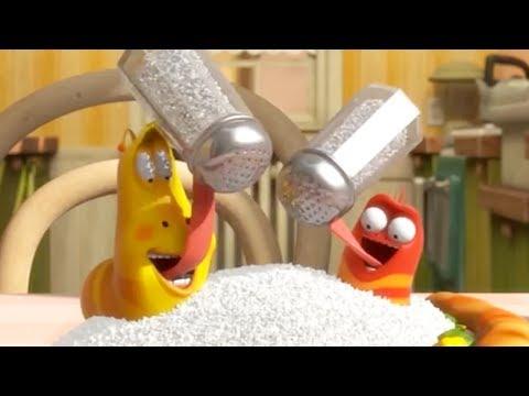 LARVA | EAT LESS SALT | Cartoons For Children | LARVA Full Episodes