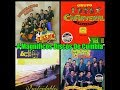 4 Magnificos Discos De Cumbia Aaron, Cañaveral, Angeles Azules, Yaguaru -