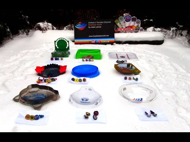 Beyblade 2014 Winter Battle of the Stadiums Part 1