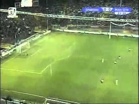 sporting manchester united | Cristiano Ronaldo 3-1 2003