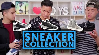 LIFE OF A SNEAKERHEAD 5 - OUR COLLECTION ft. Snupps app | Fung Bros