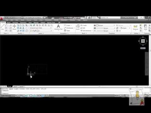 Autocad - 13. Modificar el tamaño del documento y de rejilla
