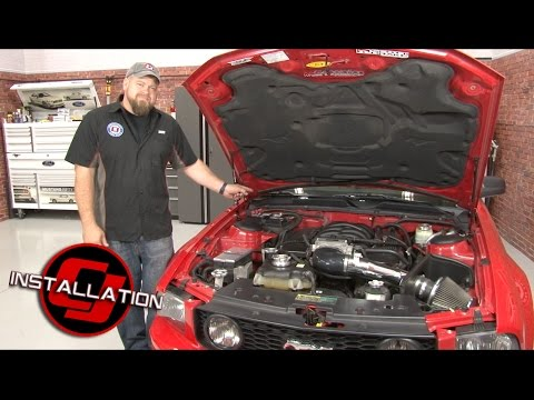 Mustang K&N Cabin Air Filter Replacement 2005-2014 Installation