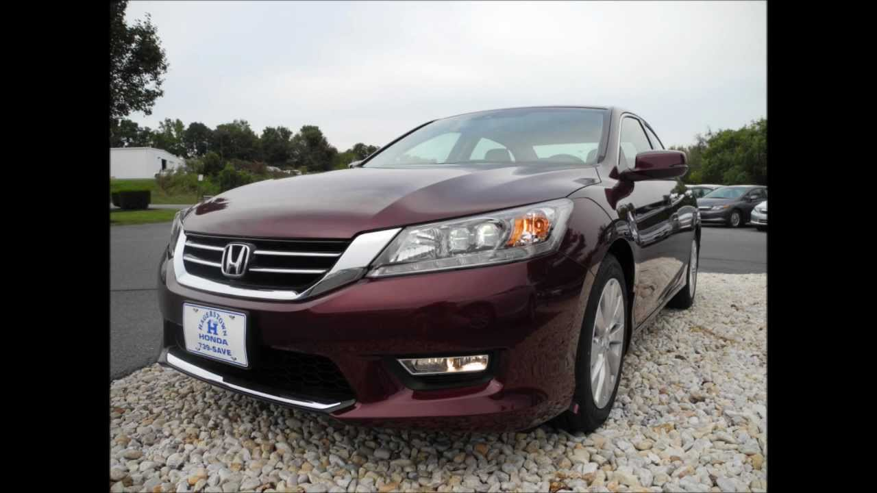 2013 Honda Accord Sedan Touring V6 Automatic Basque Red ...