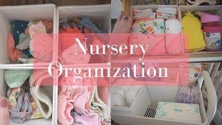 Nursery Organization! Tips and Tricks!