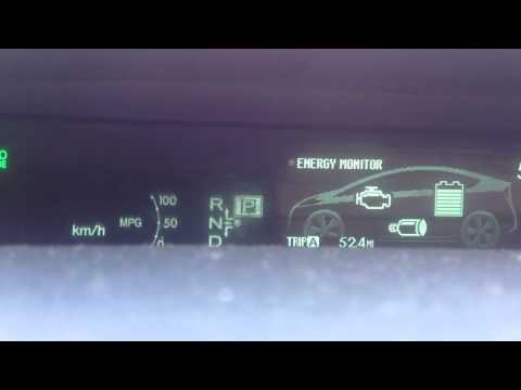 How to reset Oil Maintenance Window on 2010 Toyota Prius