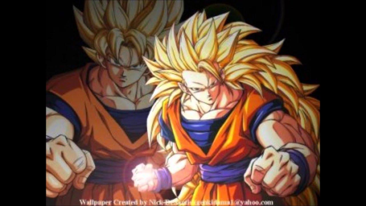 las fases más poderosas de Goku - YouTube