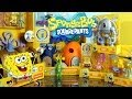 Play Doh Plankton Spongebob Squarepants Imaginext Playset Toys Super Unboxing - Disney Cars Toy Club