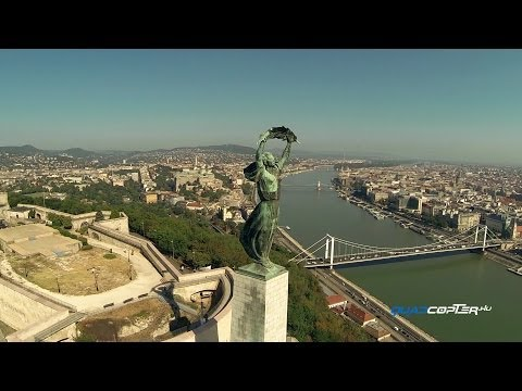 Budapest from the sky - Budapest by drone travel