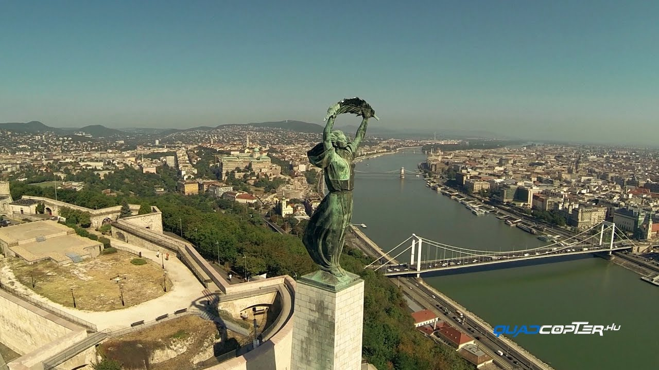 Budapest From The Sky Youtube