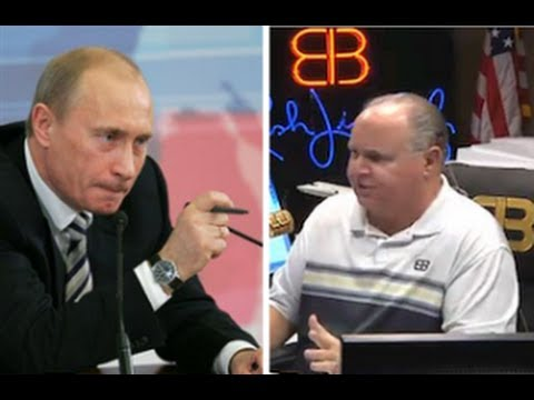 Rush Limbaugh 'Freaked Out' That He Agrees With Vladimir Putin On Banning Gay Adoption