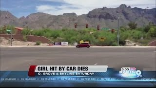 Pedestrian accident kills 5-year-old girl