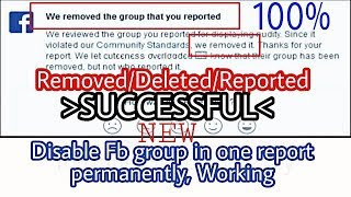 How to remove any one Fb group 2019 |Sexual Anti Islamic| Full  method By AHK