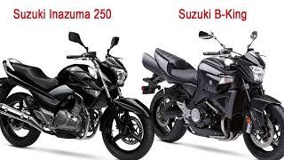 Suzuki Inazuma 250 versus Nova Yamaha Fazer 250 versus Honda CB Twister