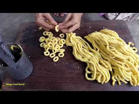 Crispy Rice Rings | rajasthani recipe | Snack Recipe | How to Make chegodilu