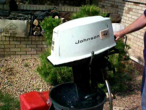 Johnson 20hp outboard youtube for 55 johnson outboard motor