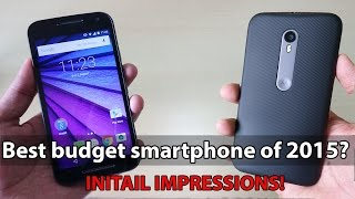 Moto G 3rd Generation is awesome! My Initial impressions!