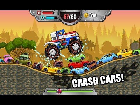 Monster Wheels Kings of Crash - Monster Truck Racing - Videos Games for Kids - Girls - Baby Android