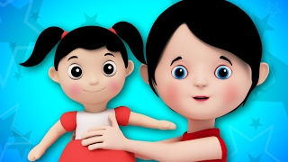 Miss Polly Had A Dolly | Kids Songs | Baby Rhymes | Childrens Videos | 3D Rhymes | Kids Tv