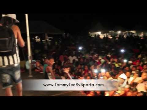 Tommy Lee Sparta Surprise Performance In Westmoreland With Stylish Tabeta Cshae And Kiprich video