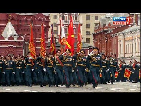 Парад Победы на Красной Площади 9 мая 2017