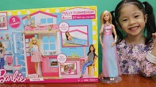 Nhà Búp Bê Barbie Phiên Bản Mới Nhất 2017 - Barbie new dream house - Barbie 's 2-story house