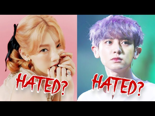 Play this video 5 Most HATED Kpop Idols