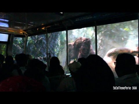 [hd Pov] King Kong 360 3-d Ride - Universal Studios Hollywood video