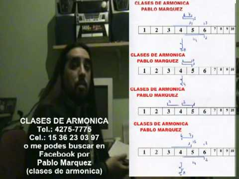 MUY DESPACITO CLASES DE ARMONICA PABLO MARQUEZ