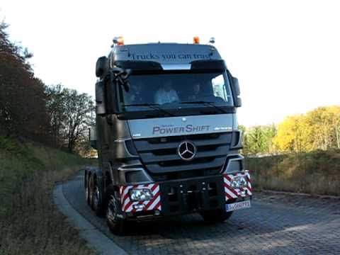 New 650hp Mercedes Actros heavy haulage tractor with Powershift