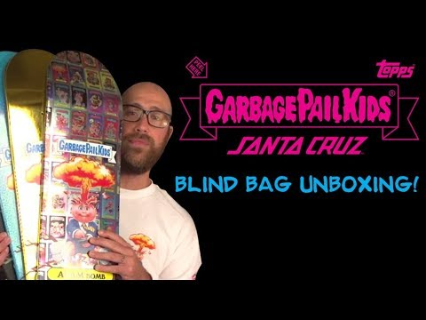 Santa Cruz Skateboards | Garbage Pail Kids Unboxing