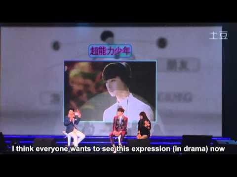 [ENG subs] 2014.10.19 Beijing fan meeting (Lee Jong Suk) - part 1 of 2