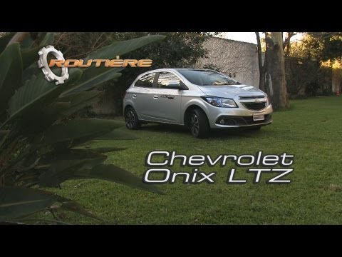 Chevrolet Onix LTZ - Routière Test- Pgm 227