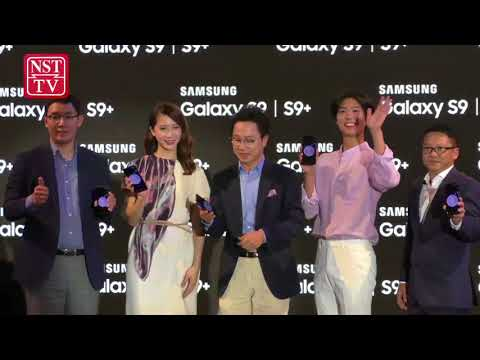 Thousands of fans gather at Pavilion to see new Galaxy S9 & S9+ and Korean Superstar Park BoGum