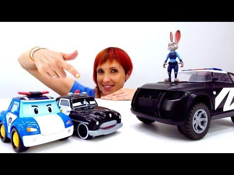 Игры для детей с Капуки Кануки 🚓 Панда Полицейский. Английский для детей и машинки.