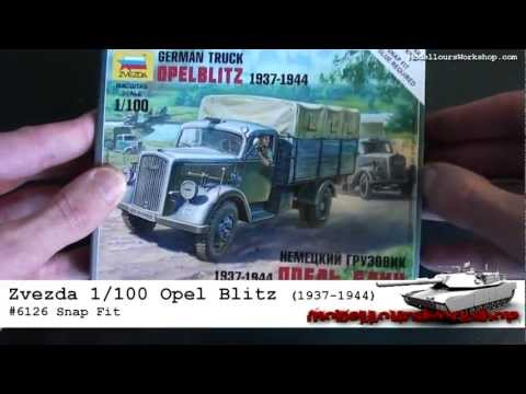 Opel Blitz Truck | Flames of War | Zvezda 1/100 (15mm)
