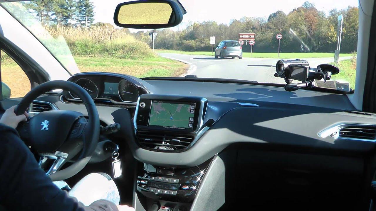 Peugeot 208 1 2 vti 12v test drive da youtube for Hdmotori 500x