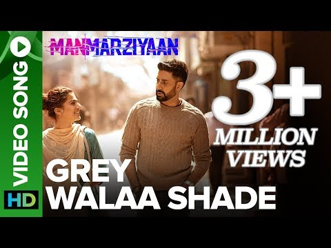 Grey Walaa Shade | Video Song | Manmarziyaan | Amit Trivedi, Shellee | Abhishek, Taapsee, Vicky