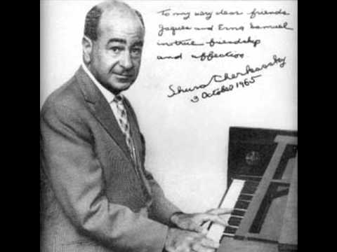 Shura Cherkassky 1993 Recital sequence with encores